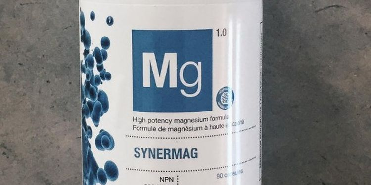 Image Of Magnesium Supplement Package