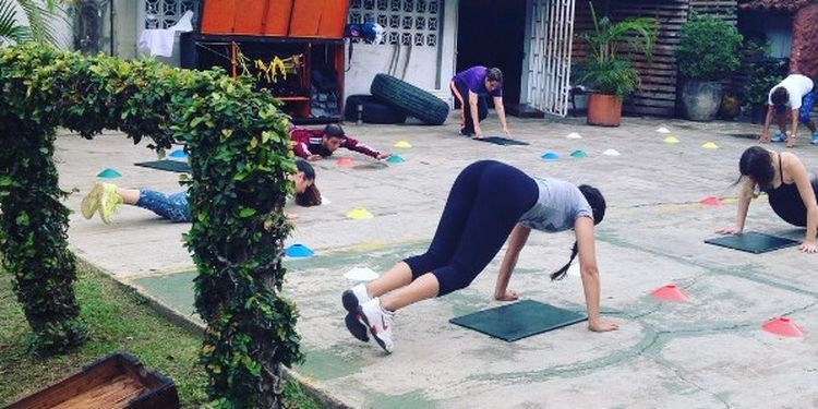 Image of the workout