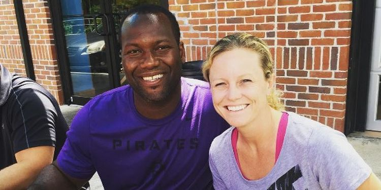Image of David Garrard with his wife