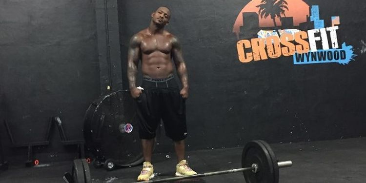 Image of Willis McGahee in the gym