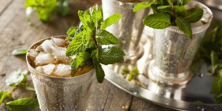 Image of mint beverages