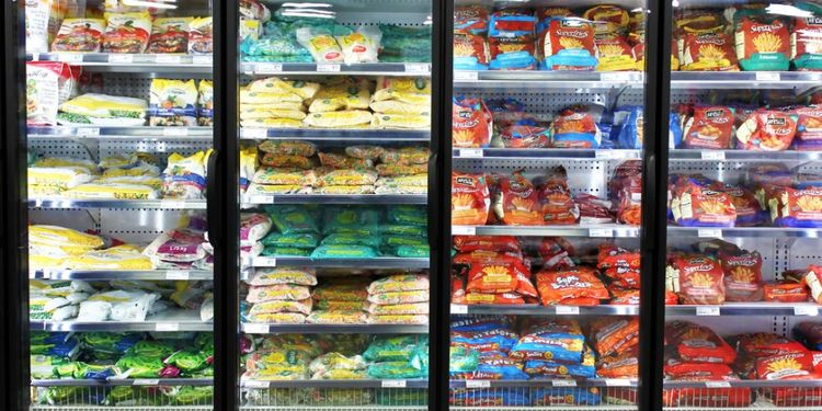 Image of PROCESSED FOODS in the fridge
