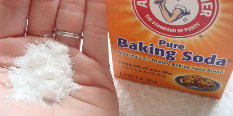 Photo of package of baking soda