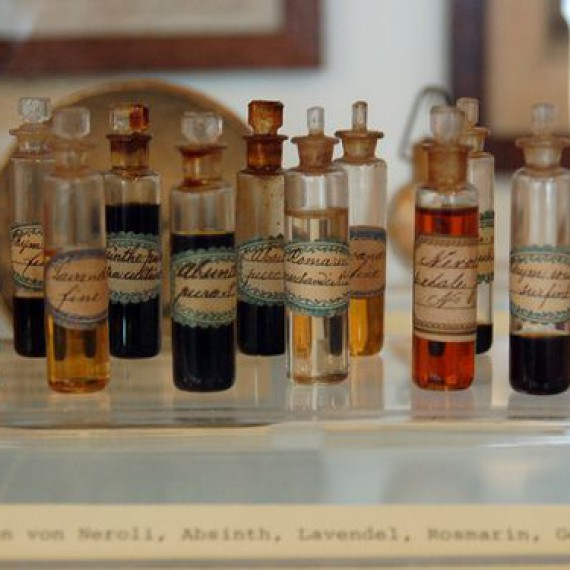 Classical Essential Oils In Museum Basel