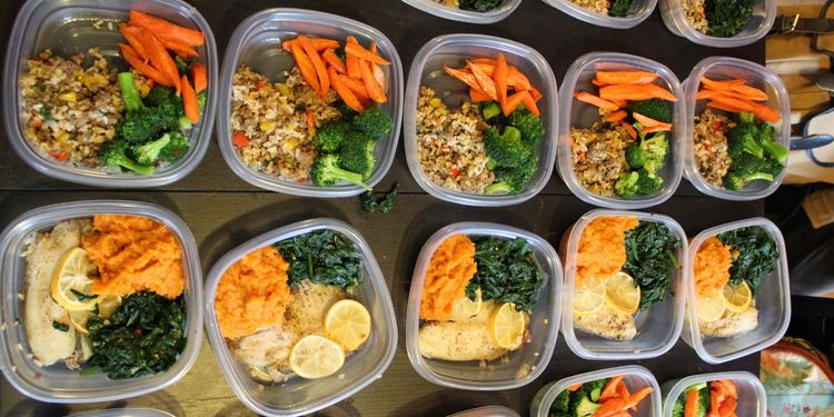 Photo of meal prep boxes