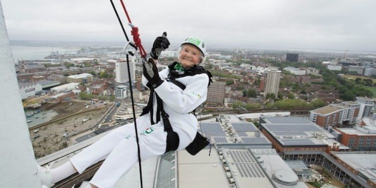 Image of Doris Long one of the strongest seniors in the world