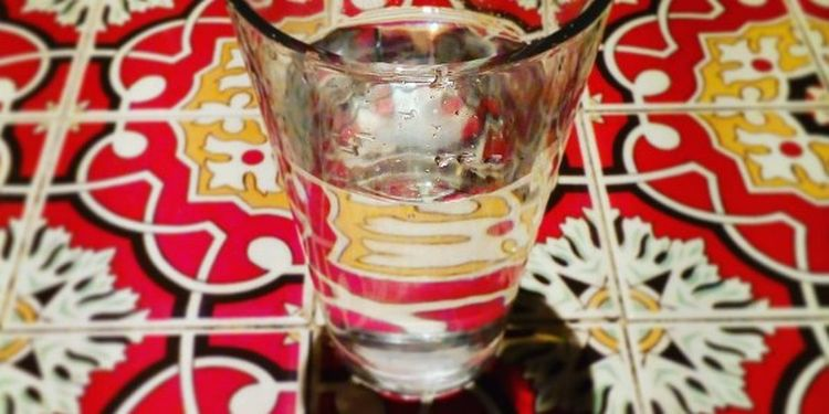 Image of a small glass of water