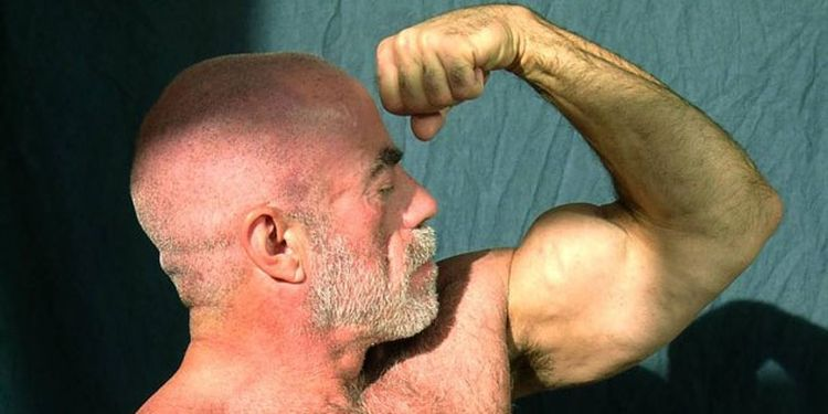 Image of Don Wildman one of the strongest seniors in the world