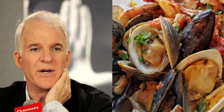 Image of Steve Martin who suffers from allergy