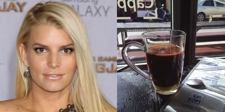 Image of Jessica Simpson who suffers from allergy