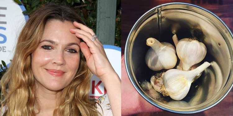Image of Drew Barrymore who suffers from allergy