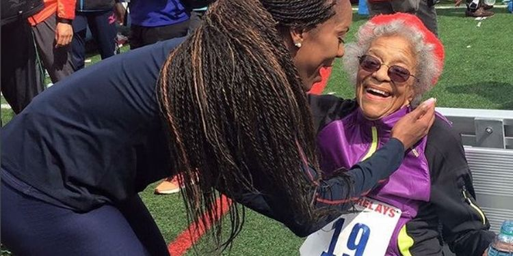 Image of Ida Keeling one of the strongest seniors in the world