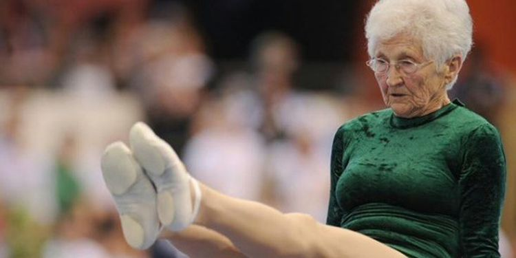 Image of Johanna Quass one of the strongest seniors in the world