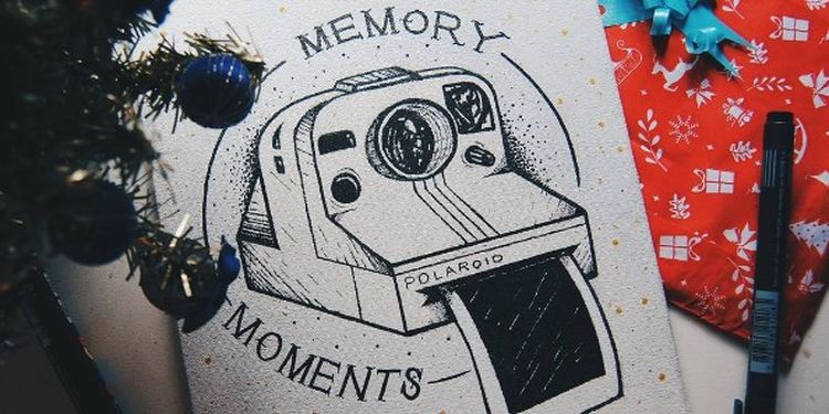 image of a memory moments card