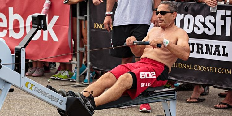 Image of Ron Gellis one of the strongest seniors in the world
