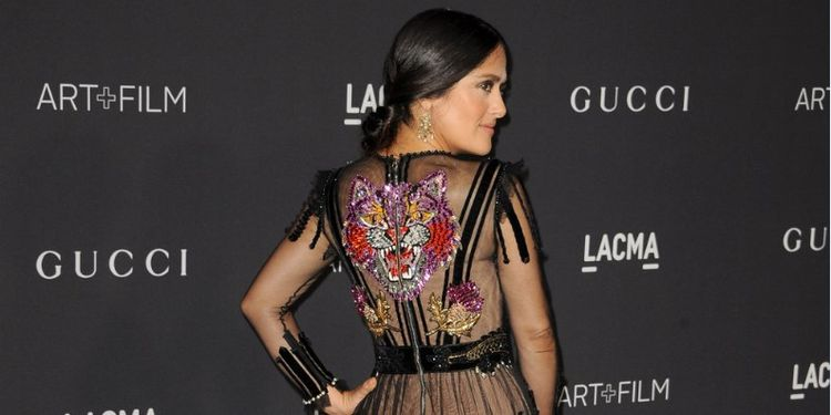 Image of SALMA HAYEK who rised above her diabetes diagnosis