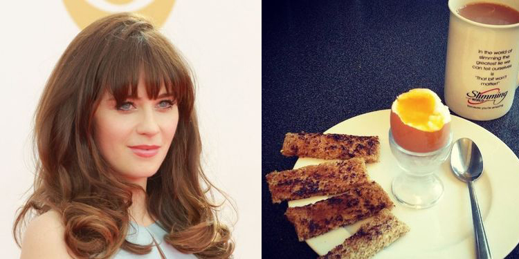 Image of Zooey Deschanel who suffers from allergy