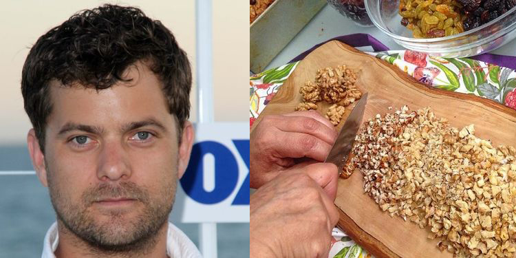 Image of Joshua Jackson who suffers from allergy
