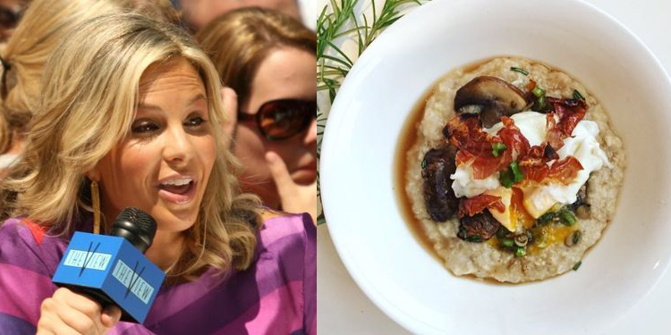 Image of Elisabeth Hasselbeck who suffers from allergy