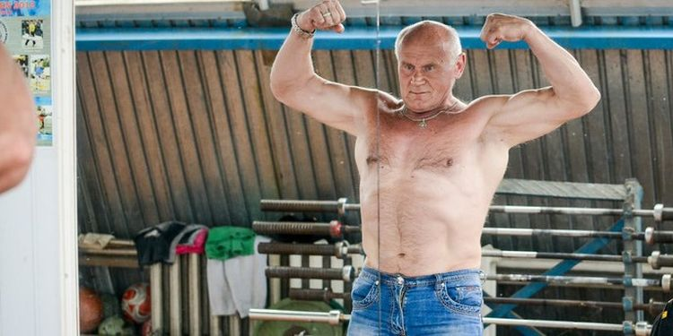 Image of Mikhail Petrovich one of the strongest seniors in the world