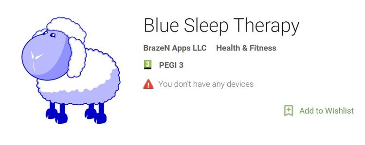 Screenshot of Blue Light Therapy App For Android Phones