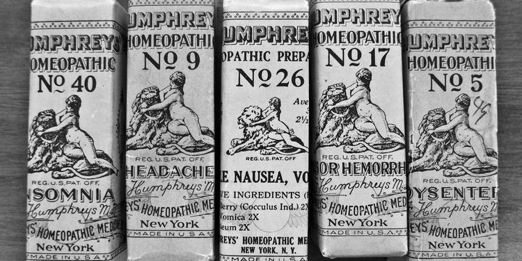 Photo od homeopathic medicines