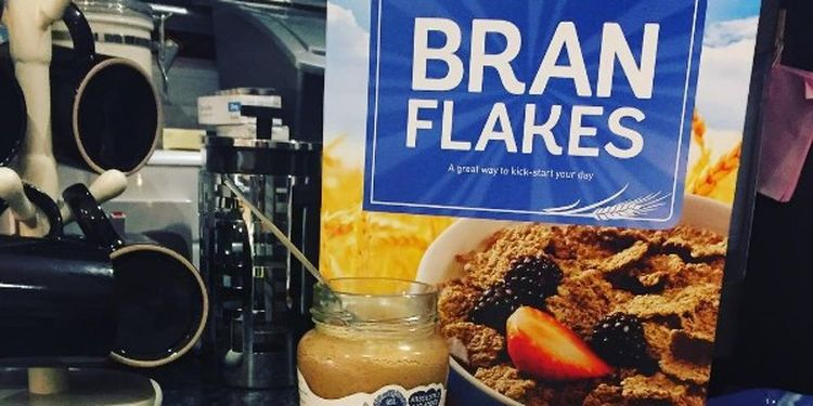 Image of enriched bran flakes