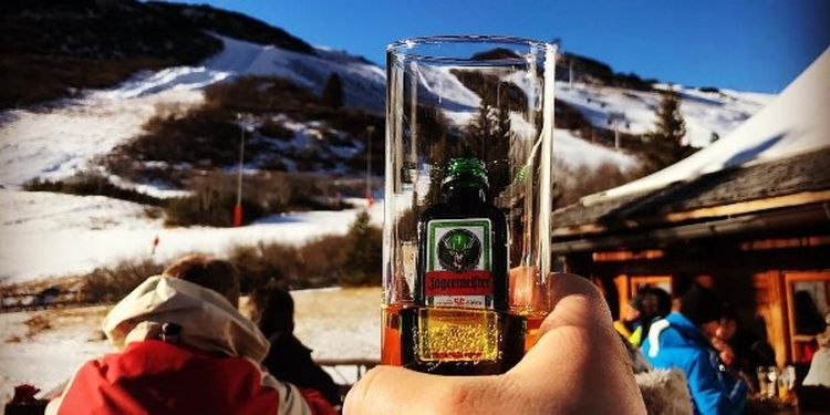 Image of a glass of jagermeister