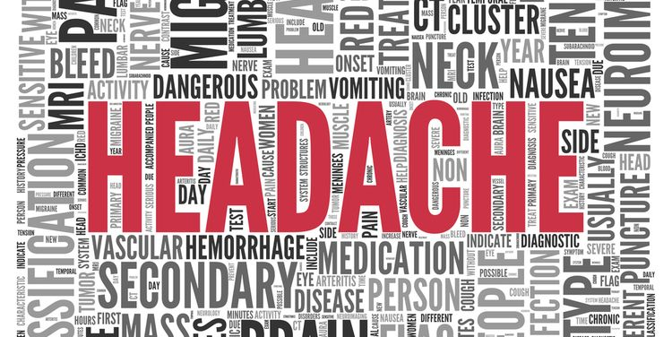 Text Saying HEADACHE