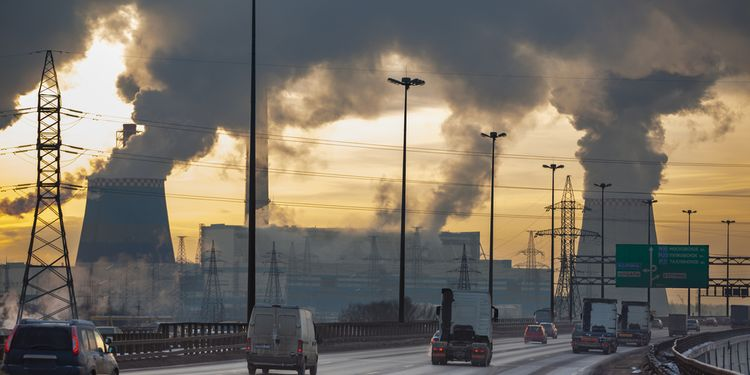 Photo of toxic fumes coming from thermal powerplant