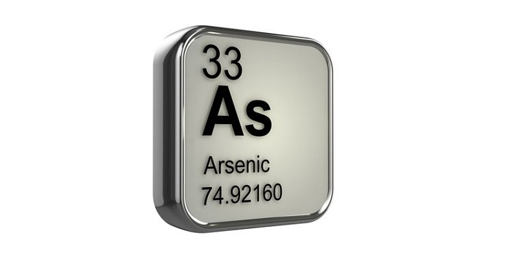 Symbol of elemental Arsenic