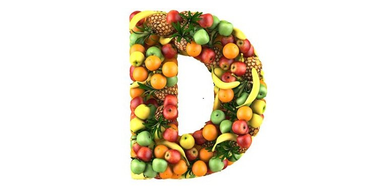 Photo of fruits arranged in letter D form