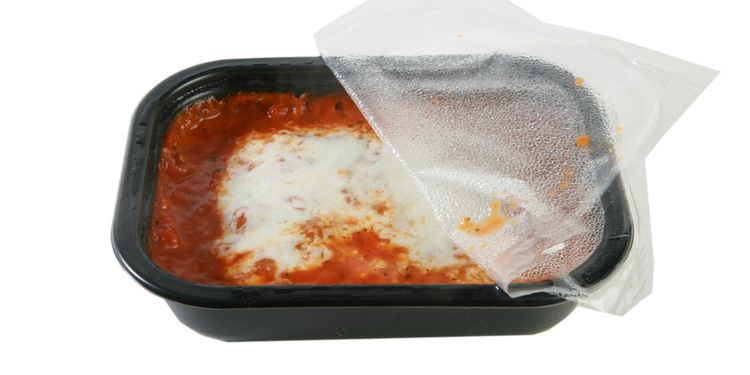 Photo of a Plastic Food Container For  Microwave Oven