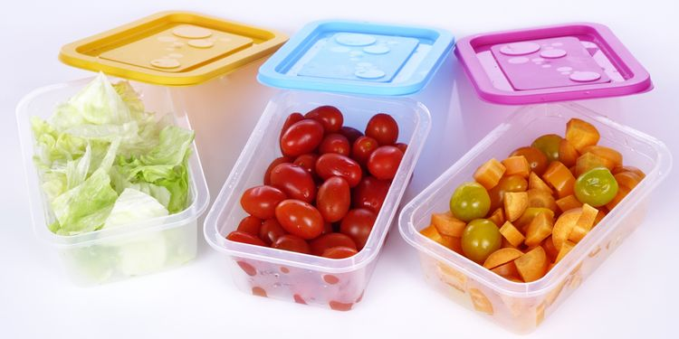 Photo of plastic food containers