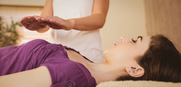 Photo of reiki treatment