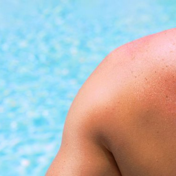 Sunscreen On Skin