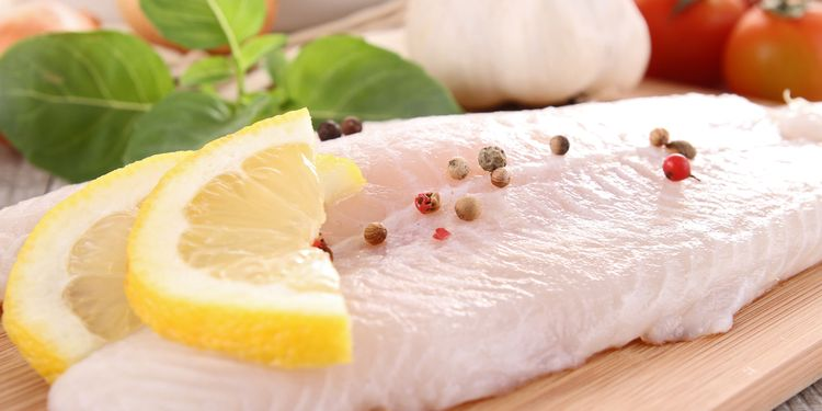 Photo of a raw fish fillet