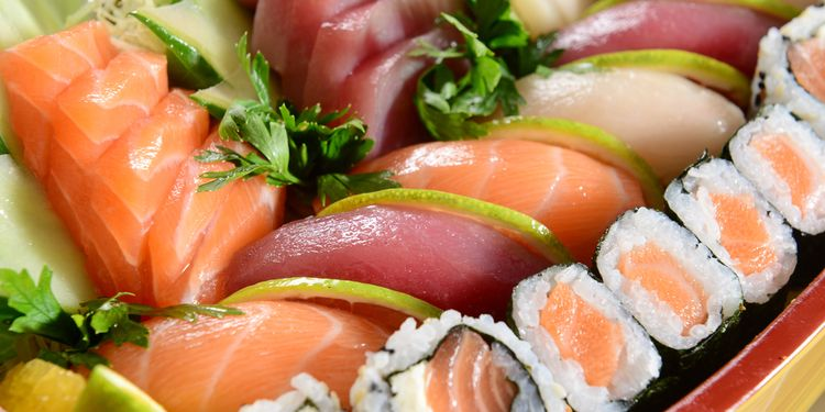 Photo of sushi dish