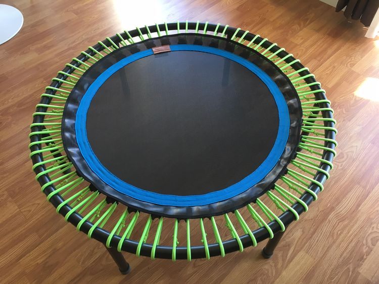 Photo of a high-end Bellicon Rebounder / Mini-Trampoline